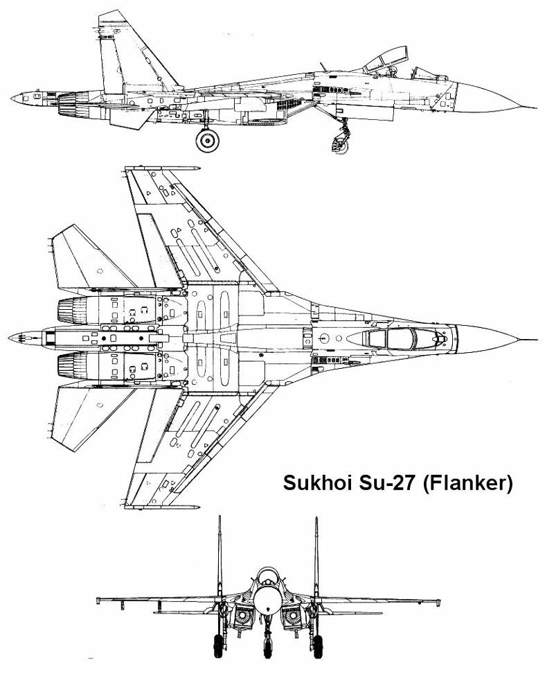 Su 27 in addition Douglas A 26 Invader moreover Eurofighter Vs Su 35 likewise P 42 Streak Flanker Prototype T 10 Record Breaker likewise Plan SU27 01. on sukhoi su 27
